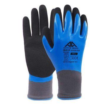Γάντια νιτριλίου εργασίας