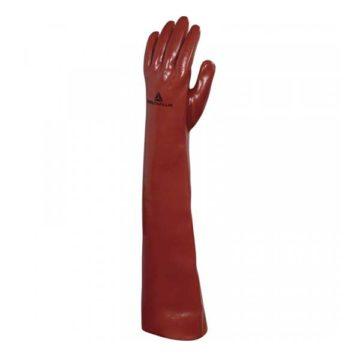 Γάντια προστασίας χημικών PVC μακριά 60 cm Delta Plus