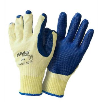 Πλεκτά γάντια εργασίας με επικάλυψη φυσικού λατέξ Galaxy Ursa