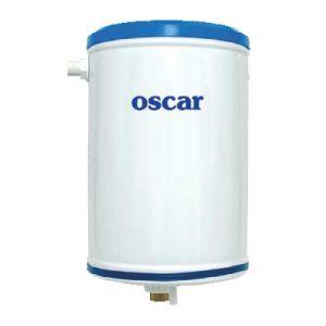 Μεταλλικό πατητό καζανάκι λευκό Oscar Plast