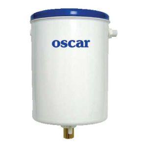 Καζανάκι πατητό πλαστικό με μηχανισμό αέρος Oscar Plast