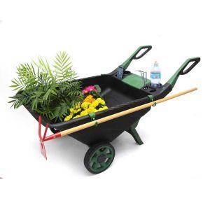 Πλαστικό καρότσι κήπου επαγγελματικό 150 κιλών