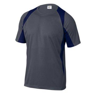 Μπλουζάκι εργασίας δίχρωμο με κοντά μανίκια DELTA Plus