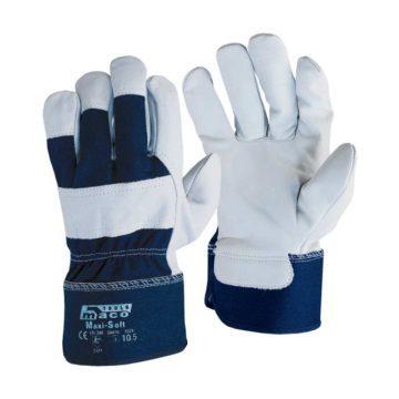 Γάντια εργασίας από μοσχαρίσιο δέρμα Maco Maxi-Soft