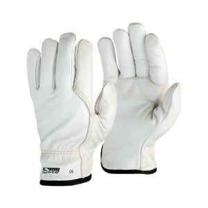 Γάντια δερμάτινα με επένδυση Maco Maxi-Comfort