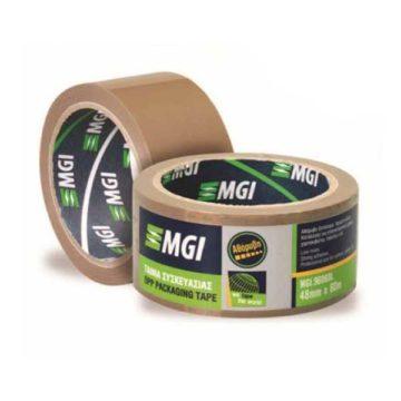 Αθόρυβη ταινία συσκευασίας MGI με ισχυρή κόλλα
