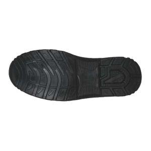 Αδιάβροχο μποτάκι ασφαλείας δερμάτινο S3 μαύρο
