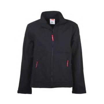 Αδιάβροχο σακάκι μαύρου χρώματος ATLANTIS