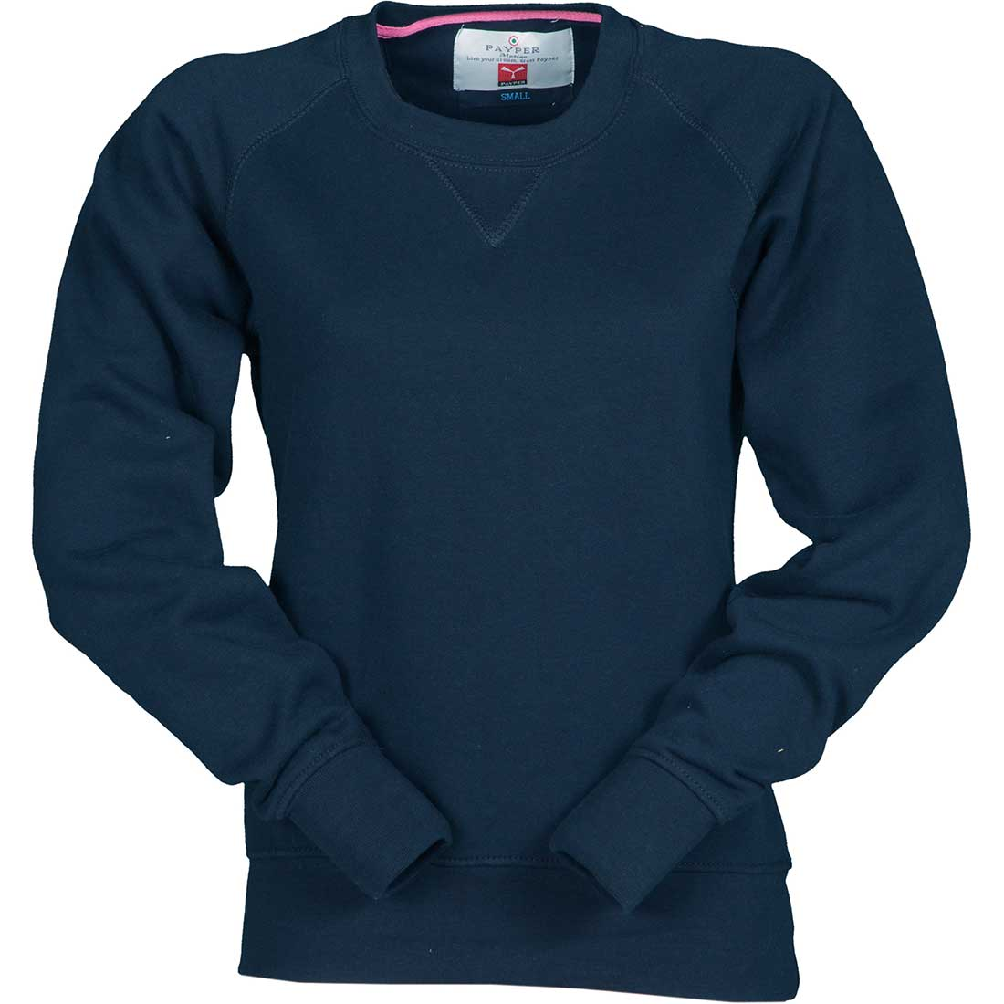 Ανδρικό φούτερ με λαιμόκοψη σε διάφορα χρώματα - PoliSafety 523c6fe6fc0