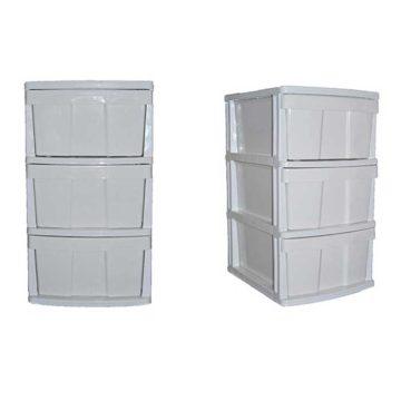 Συρταριέρα πλαστική με 3 συρτάρια