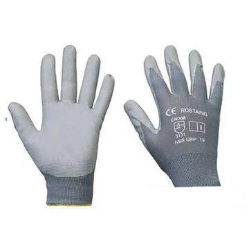 Γάντια νιτριλίου γκρι GRASHER
