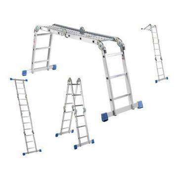 Πολυμορφική σκάλα - σκαλωσιά αλουμινίου