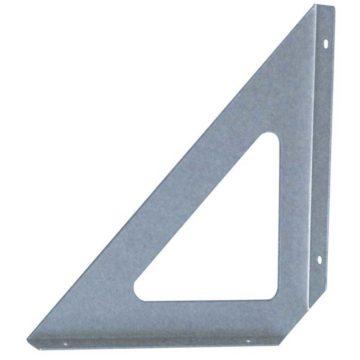 Τριγωνική γωνία στήριξης ραφιών μεταλλική