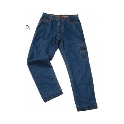 Παντελόνι τζιν εργασίας με φόδρα και πλαϊνή τσέπη Beta