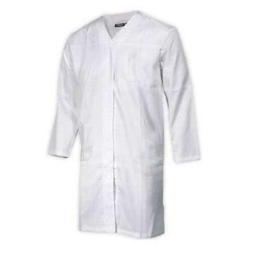 Ρόμπα βιομηχανίας τροφίμων HACCP λευκή Fageo