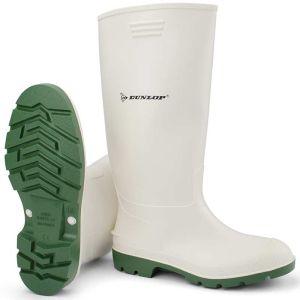 Μπότα γονάτου αδιάβροχη λευκή Dunlop PRICEMASTOR
