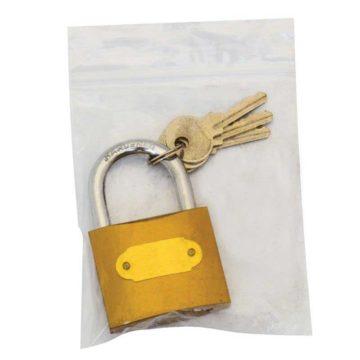 Λουκέτο σιδερένιο ασφαλείας με 3 κλειδιά