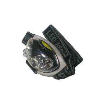 Φακός κεφαλής LED με ελαστικό ιμάντα