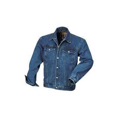 Τζάκετ τζιν εργασίας με τσέπες μπλε χρώματος Beta