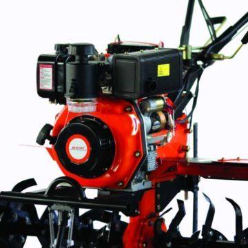 Σκαπτικό μηχάνημα πετρελαίου με μίζα 10HP 418cc Nakayama