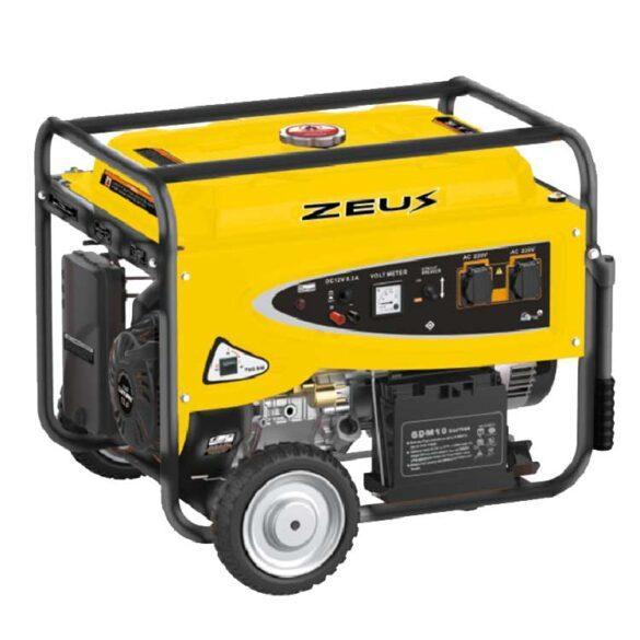 Τροχηλάτη βενζινοκίνητη γεννήτρια με AVR 3.5ΚW ZEUS