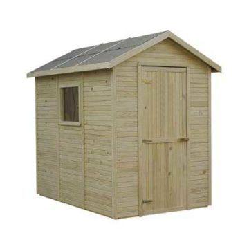Σπιτάκι κήπου ξύλινο με ασφαλτόπανο οροφής