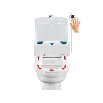 Αυτοκαθαριζόμενο καπάκι τουαλέτας με κάλυμμα
