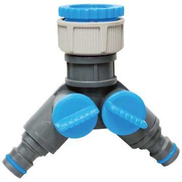 Διακλαδωτής ποτίσματος βρύσης πλαστικός AQUATECH
