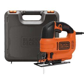 Σέγα BLACK & DECKER 620W με φυσητήρα σκόνης