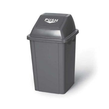Κάδος απορριμάτων Push πλαστικός 100 λίτρων