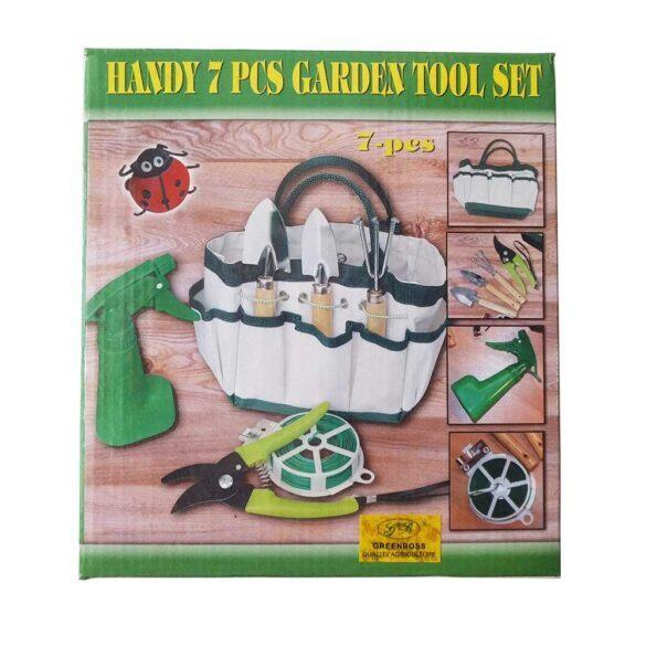 Σετ εργαλείων κήπου μίνι σε τσαντάκι GREEN BOSS