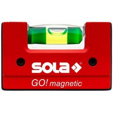 Αλφάδι μαγνητικό Sola GO MAGNETIC 6.5cm