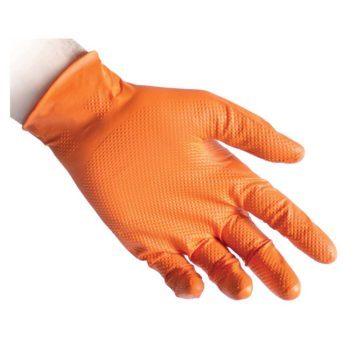 Γάντια νιτριλίου συνεργείων μιας χρήσης REFLEXX N85