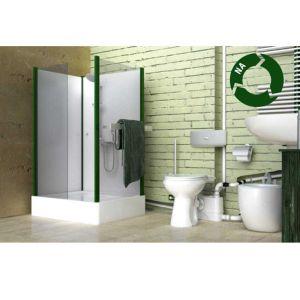 Σταθμός λυμάτων για πίσω από λεκάνη τουαλέτας WC DAB