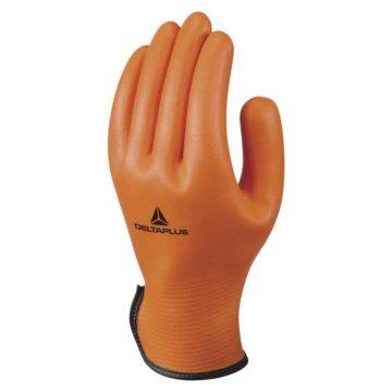 Γάντια εργασίας νιτριλίου πορτοκαλί DELTA PLUS
