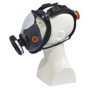 Ολοπρόσωπη μάσκα προστασίας με καστάνια DELTA PLUS