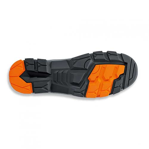 Παπούτσι ασφαλείας UVEX S3 SRC δερμάτινο υδροφοβικό