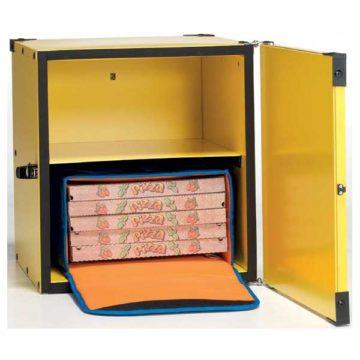 Κουτί ντιλίβερι για μηχανάκι με 2 ράφια ΙΤΑΛΙΑΣ