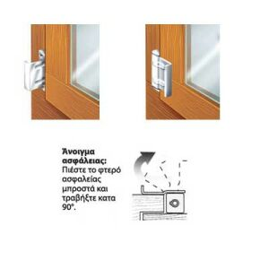 Ασφάλεια πόρτας και παραθύρων VORMANN ΓΕΡΜΑΝΙΑΣ