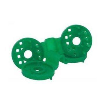 Πλαστικά κλιπ για δίχτυ σκίασης πράσινα στερέωσης
