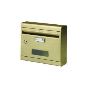 Γραμματοκιβώτιο φαρδύ νίκελ μεταλλικό ΙΤΑΛΙΑΣ