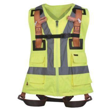 Ζώνη προστασίας με γιλέκο εργασίας φωσφόριζε DELTA PLUS