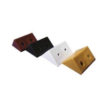 Γωνίες πλαστικές στήριξης ραφιών σε διάφορα χρώματα