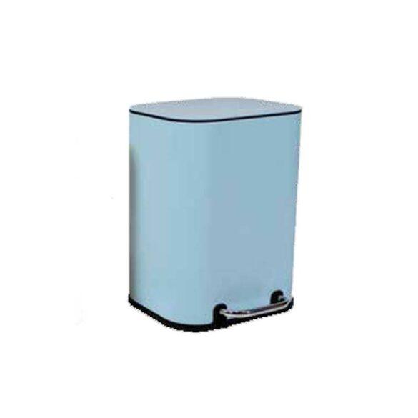 Πεντάλ μπάνιου μεταλλικό γαλάζιο 5 L ΠΑΣΤΕΛ