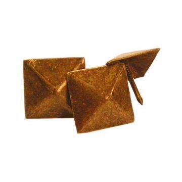 Διακοσμητικά καρφιά επιπλοποιίας πυραμίδα αντικέ AMIG