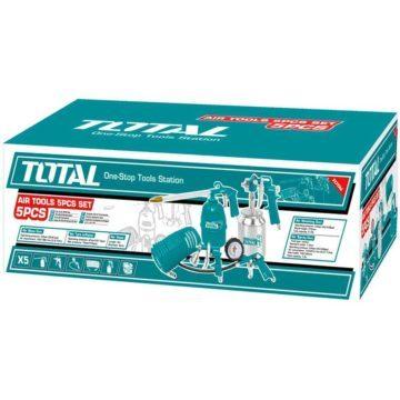 Σετ εργαλεία αέρος 5 τεμαχίων TOTAL