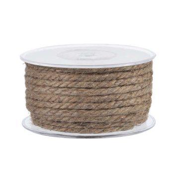 Σχοινί γιούτα 8 mm διακοσμητικής και ναυτιλιακής χρήσης