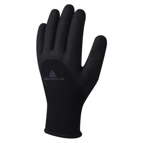 Γάντια εργασίας κρύου μαύρα Delta Plus HERULE VV750