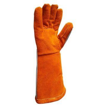 Δερμάτινα πυρίμαχα γάντια 100 βαθμών Delta Plus TERK400