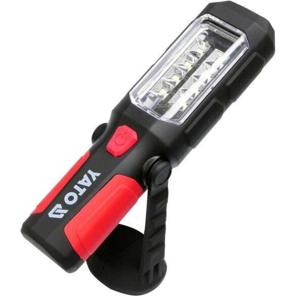 Φακός LED με μαγνήτη 280 Lummen μεγάλης εμβέλειας ΥΑΤΟ